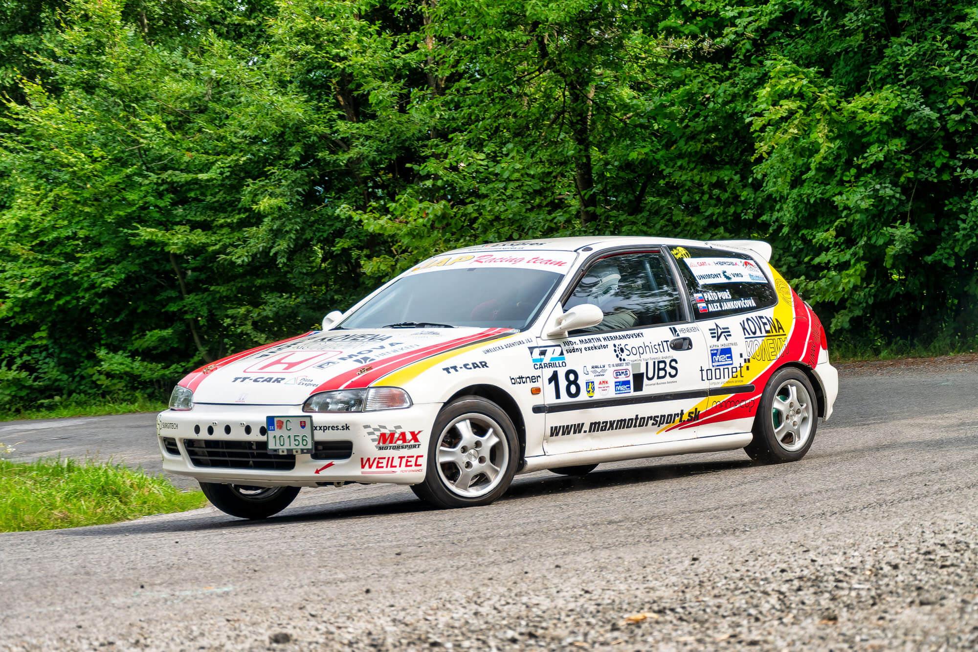 Rally Vranov 2021, stavba zavodnych vozidiel, nahradne diely, programovanie riadiacej jednotky, pretekarske palivo, Maxmotorsport